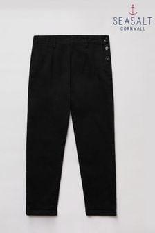Seasalt Tall Black Waterdance Trousers