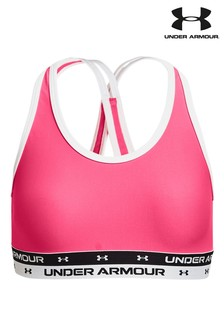 Under Armour Girls X Back Solid Bra