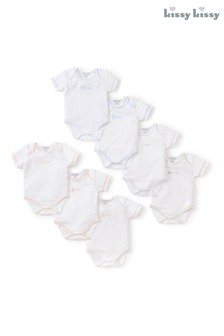 Kissy Kissy Days Of The Week Bodysuits Set