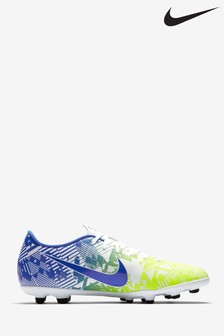 Nike White Mercurial Vapor 13 Club Neymar Jr. Multi Ground Football Boots