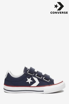 Converse Star Player Junior Navy Trainers