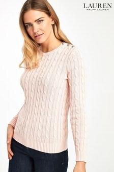 Lauren Ralph Lauren® Pale Pink Montiva Jumper