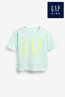 Gap Green Mini Logo T-Shirt