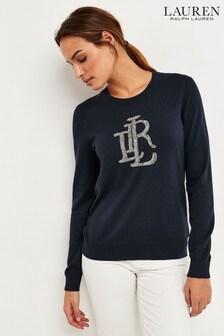 Lauren Ralph Lauren® Navy Stockdale Jumper