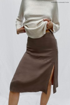 French Connection Carria Cupro Skirt