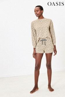 Oasis Natural Animal Heart Shorts