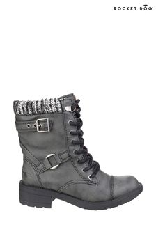 Rocket Dog Black Thunder Biker Boots