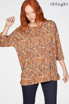 Thought Brown Antonia Top