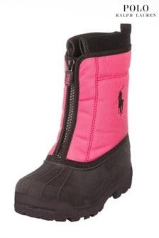 Ralph Lauren Pink Boots