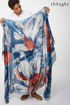 Kremowy szal-sarong Thought Lyme