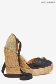 Kurt Geiger London Karmen Black Sandals