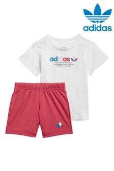 adidas Originals Infant Adicolour T-Shirt And Shorts Set
