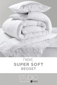 Studio Duvet, Pillow And Mattress Protector Set