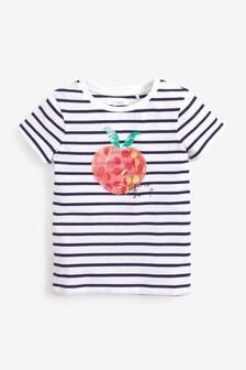 Sequin Apple T-Shirt (3-16yrs)