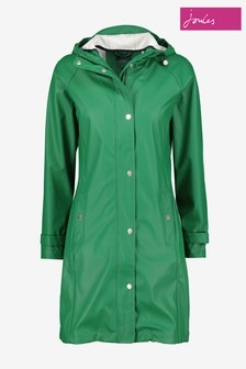 Joules Green Quayside Rubber Raincoat