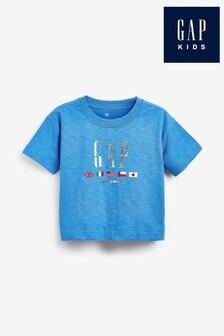 Gap Blue Logo T-Shirt