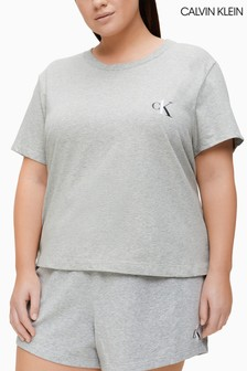 Calvin Klein Grey Plus Lounge T-Shirt