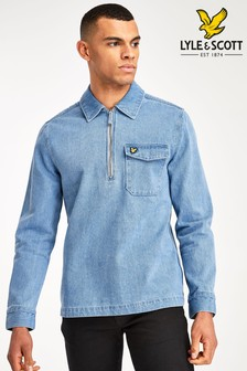 Lyle & Scott Blue Denim Overshirt