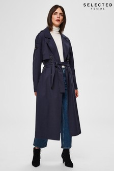 Selected Femme Stone Bren Trench Coat