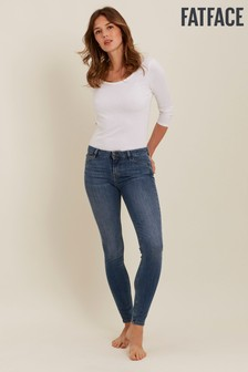 FatFace Light Vintage Harlow Super Skinny Jeans