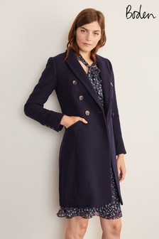 Boden Blue Burnet Coat