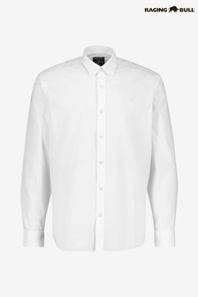 Raging Bull Long Sleeve Signature Poplin Shirt