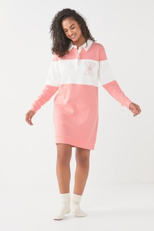 Cotton Oversized Rugby Shirt