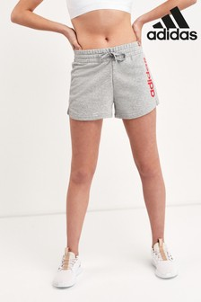 adidas Essentials Grey Linear Shorts