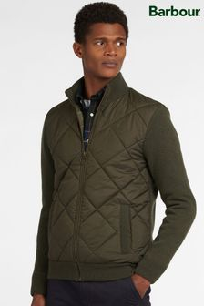 Barbour® Arch Diamond Quilt Knitted Hybrid Jacket