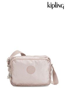 Kipling Rose Gold Silen Small Cross Body Shoulder Bag