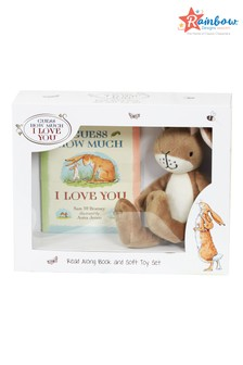 Rainbow Designs Guess How Much I Love you Book And Toy Set