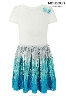 Monsoon Disco Freya Ombre Dress