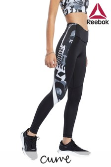 Reebok Curve Workout Ready Print Leggings