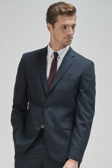 100% Wool Check Suit