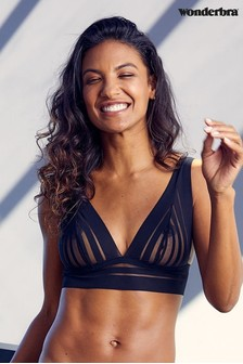 Wonderbra® Black Fabulous Feel 4-in-1 Bra