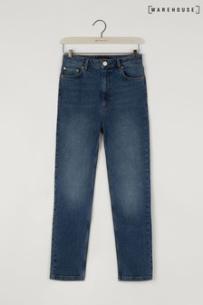 Warehouse Blue Slim Cut Jeans