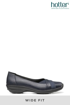 Hotter Serenity Wide Fit Slip-On Pump Shoes