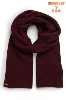 Superdry Heritage Ribbed Scarf