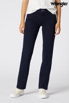 Wrangler Straight Blue Black Jeans