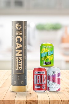 Beer Hawk Happy Birthday Craft Lager Canister