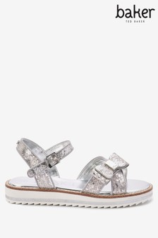 Baker by Ted Baker Silver Sandals