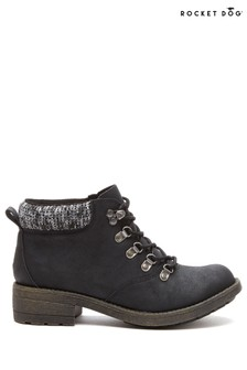 Rocket Dog Black Train Pablo Ankle Boots