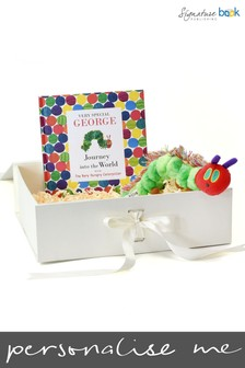 Personalised Very Special You Hungry Caterpillar Book And Plush Toy Gift Set by Signature Book Publishing