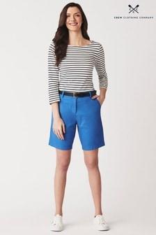 Crew Clothing Blue Chino Shorts