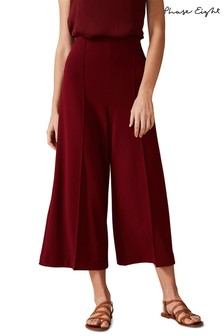 Phase Eight Red Lenka Ponte Trousers