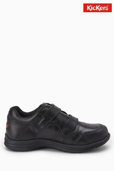 Kickers® Black Season Strap Shoe