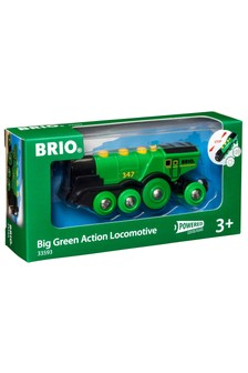 BRIO World Big Green Action Locomotive