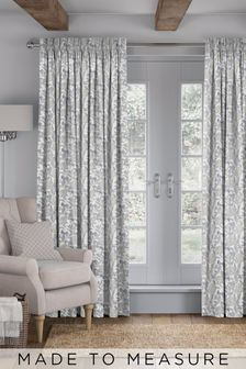 Pablo Fog Grey Made To Measure Curtains