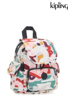 Kipling Multi Print City Pack Mini Backpack