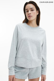 Calvin Klein Grey CK Reconsidered Sweatshirt
